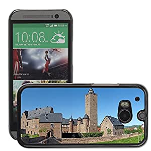 Hot Style Cell Phone PC Hard Case Cover // M00171431 Castle Fortress Steinau Germany // HTC One M8