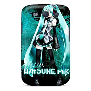 Perfect Cell-phone Hard Covers For Samsung Galaxy S3 (auY17428Zpmp) Support Personal Customs Trendy Virtual Voice Hatsune Miku Series