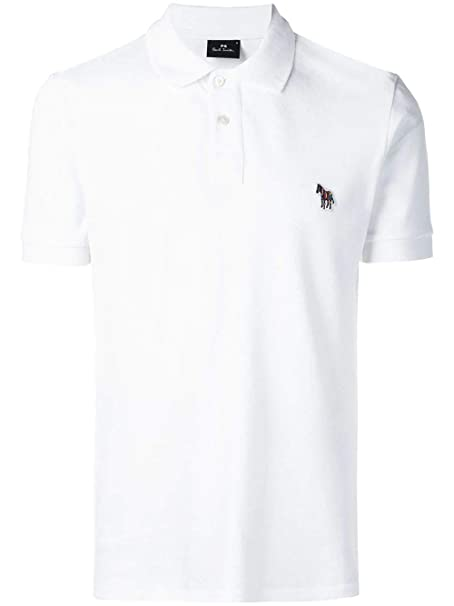 Paul Smith Luxury Fashion Hombre M2R534LAZEBRA01 Blanco Polo ...