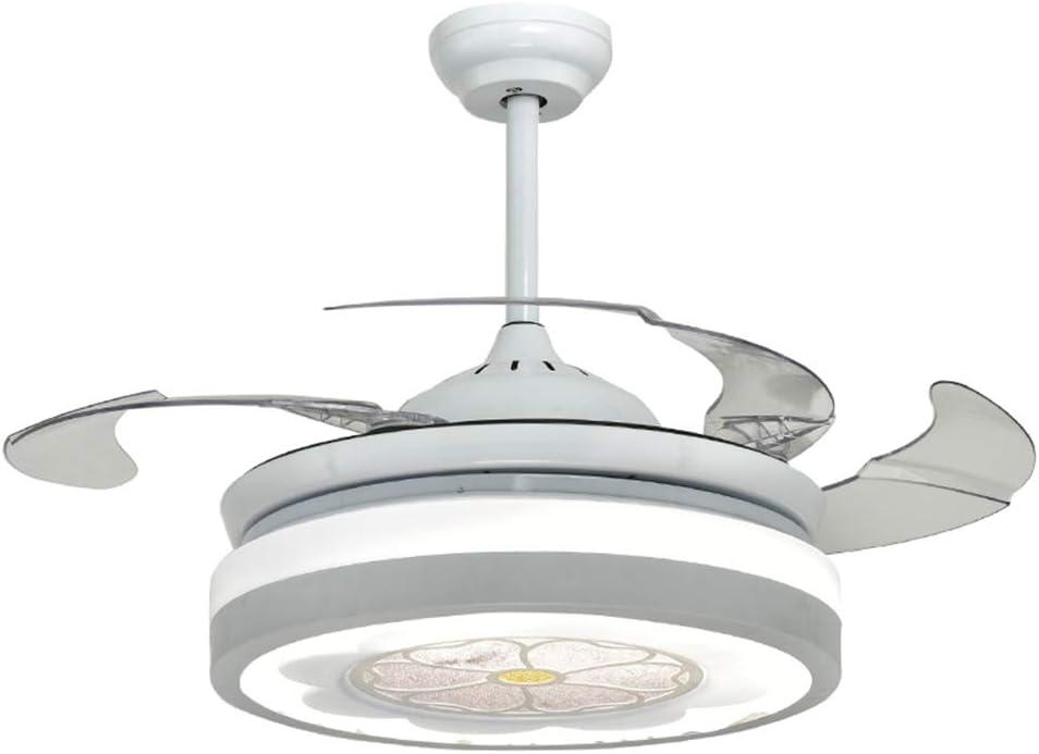 Ventilador de techo Control Remoto Luz De Ventilador De Sala LED ...