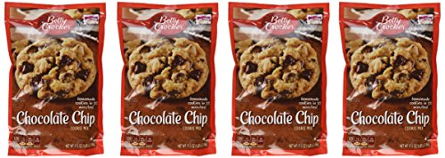 Betty Crocker, Cookie Mix, Chocolate Chip, 17.5oz Pouch (Pack of -