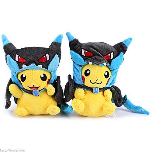 Pokemon Pikachu 9 Inch Stuffed Cartoon Doll Plush Soft Toy GRINNING -CN#b4err4-gr4e g145e25070