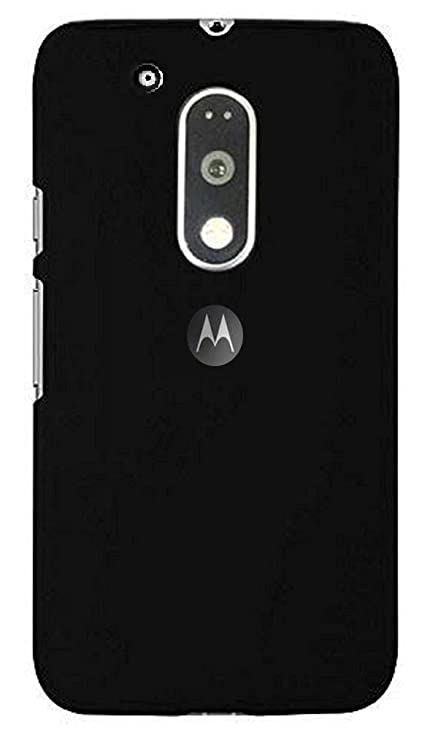 timeless design 40999 0c49b Zynk Case(TM) Back Cover for Moto G4 Plus (G4 Plus \Moto G 4th  Generation)-Pitch Black