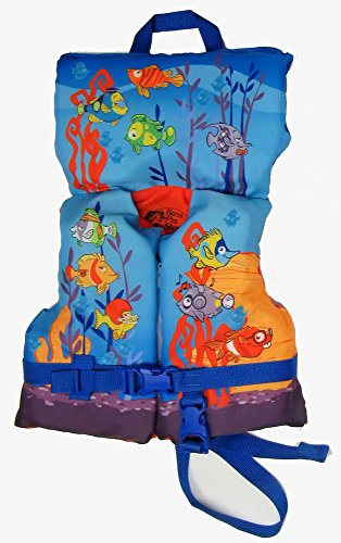 Bass Pro Shops Fish Character Vest for Infants Under 50 Pounds ()