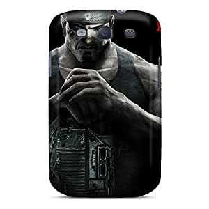 Scratch Protection Hard Cell-phone Cases For Samsung Galaxy S3 (czf14100PacU) Provide Private Custom Nice Gears Of War 3 Pattern hjbrhga1544