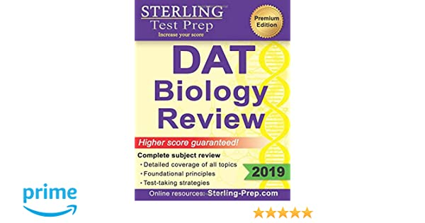Sterling Test Prep DAT Biology Review: Complete Subject Review ...