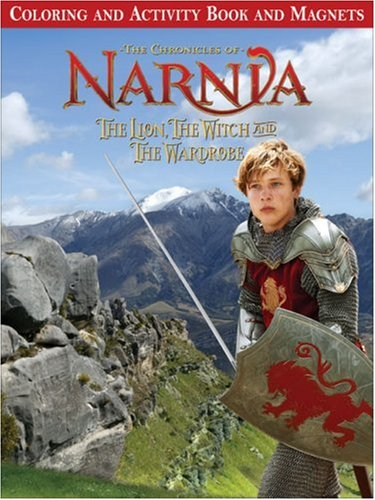 The Lion, the Witch and the Wardrobe Coloring and Activity Book and Magnets (Narnia) (The Lion The Witch And The Wardrobe Activities)
