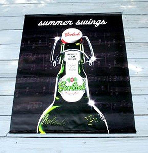 Grolsch Premium Lager 30 X 40 Summer Swing Vert Vinyl Banner Double Sided