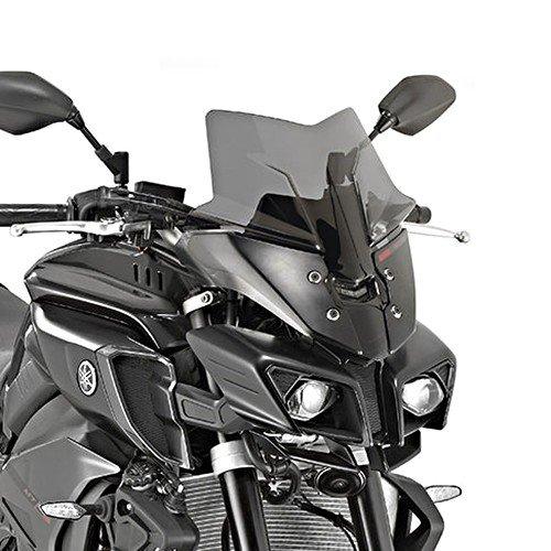 Givi Motorbike Motorcycle Windshield Windscreen Yamaha MT-10 2016 tinted