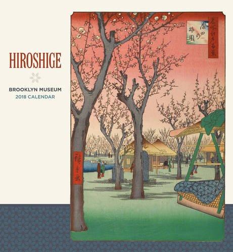 Hiroshige 2018 Wall Calendar