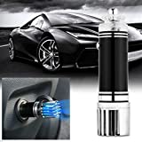 Car Air Purifier,Toogou Car Air Freshener and Ionic Air Purifier | Remove Dust, Pollen, Smoke and Bad Odors - Available for Your Auto or RV (Black)