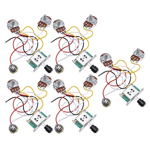 51OrHR c7PL amazon com kmise prewired wiring harness kit 3 way toggle switch EZ Wiring Harness Diagram Chevy at bayanpartner.co