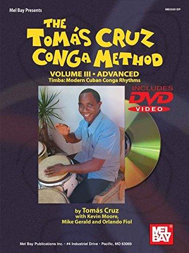Tomas Cruz Conga Method Volume 2 Intermediate Essential Cuban Conga Rhythms