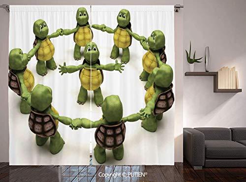 ninja turtle curtains girl - 9