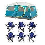 Coleman Tenaya Lake 8 Person Instant Cabin WeatherTec...