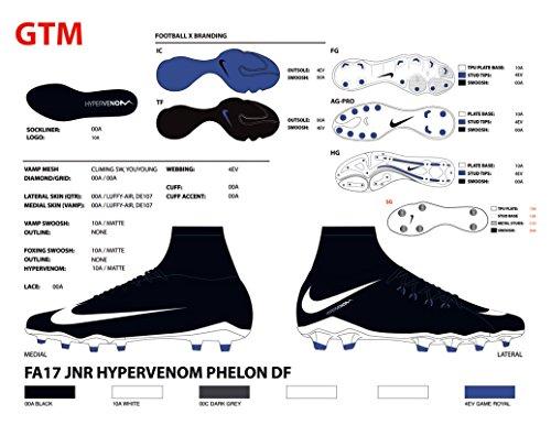 Phelon Phelon Futsal Royal Enfant white Chaussures Noir Jr Tf black black black game De Mixte Nike 3 Hypervenomx C Df HPq0xawz