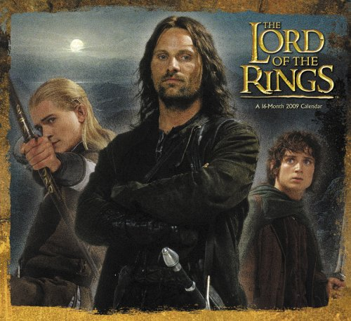 The Lord of the Rings 2009 Calendar ()