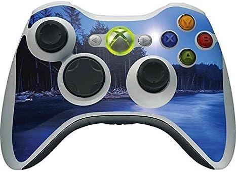 Nature Xbox 360 Wireless Controller Skin - Forest Coastline Vinyl ...