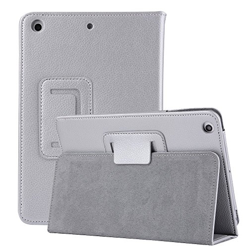 iPad Pro 9.7 inch Sleeve Bumper Case,MeiLiio Premium Folio Leather Case Book Design Cover Lightweight Ultra Slim Stand Smart Protective Case for Apple iPad Pro 9.7 inch Tablet (Silver)