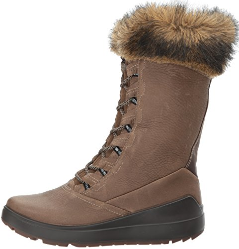 Pictures of ECCO Women's Noyce Tall Snow Boot 834603 Birch/Coffee 5
