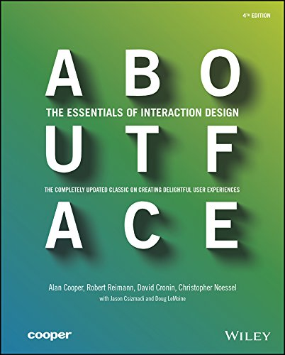 (About Face: The Essentials of Interaction)