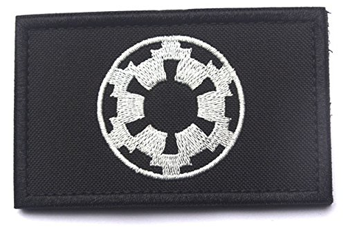Antrix Star Wars Galactic Empire Target Tactical Applique Fastener Hook and Loop Military Galactic Empire Badge Morale Patch -3.152