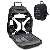 Drone Repair Parts - USA Gear FPV Drone Backpack Compatible with DJI Phantom 4, 3, Mavic Pro, Yuneec Breeze and RC Quadcopters - Custom Interior, Thick Padded Protection, Exterior Storage Straps and Waterproof Rain Cover