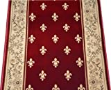 Dean Regal Red Carpet Rug Hallway Stair Runner - Purchase by the Linear Foot
