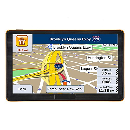 GPS Navigation For Car, Car GPS Navigation System,7 Inch Touchscreen Vehicle GPS Navigator with Lifetime Map Update