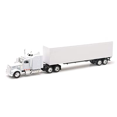 New Ray Kenworth W900 Plain White Unmarked 1/43 15843: Toys & Games