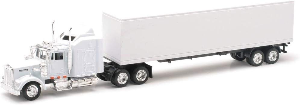 New Ray Kenworth W900 Plain White Unmarked 1/43 15843