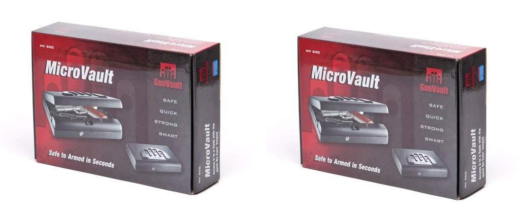 MV500 Microvault Pistol Gun Safe (Pack of 2)