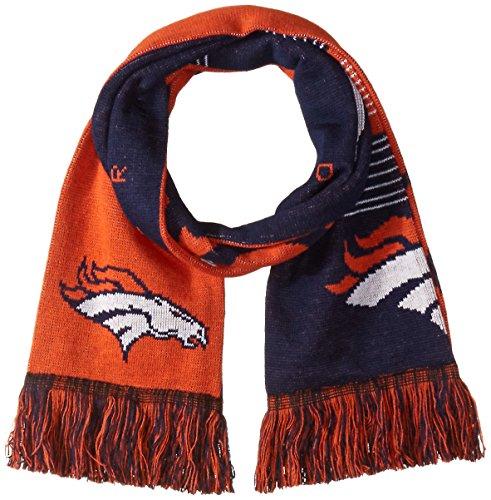 (Denver Broncos Reversible Split Logo Scarf )