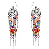 Young & Forever Women's Valentine Boho Gypsy Collection Drop Earrings Jewellery