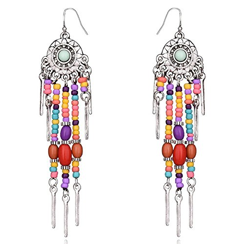 Young & Forever Women's Valentine Boho Gypsy Collection Drop Earrings Jewellery by Young & Forever