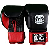 Cleto Reyes Extra Padding Leather Training Gloves - Black