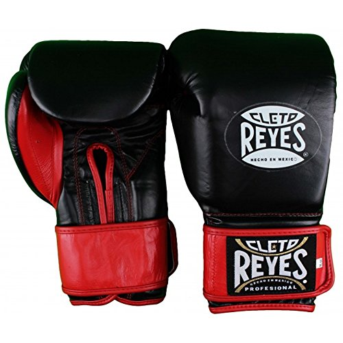 Cleto Reyes Extra Padding Training Gloves - Velcro - Black - 14-Ounce