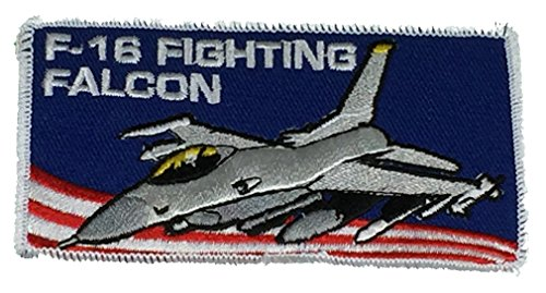USAF F-16 FIGHTING FALCON PATCH - Color - Veteran Owned Business. (Usaf F-16)