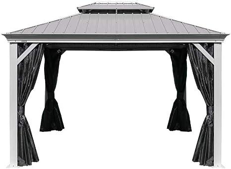 Sojag Messina - Cenador de Aluminio (10 x 12 cm, Incluye ...