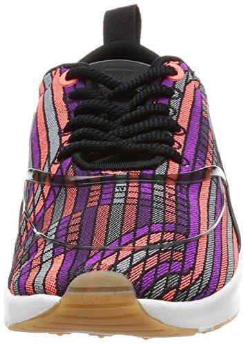 Nike Air Max Thea Ultra Jcrd Prm Vrouwen Running Trainers 885.021 Sneakers Schoenen Zwart / Zwart-gum Geel-wit