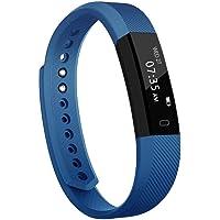 TOOBUR Slim Fitness Tracker Watch, Activity Tracker, Pedometer, Calorie Counter, Sleep Monitor,IP67 Waterproof Step…
