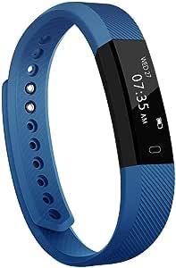 TOOBUR Slim Fitness Tracker Watch, Activity Tracker, Pedometer, Calorie Counter, Sleep Monitor,IP67 Waterproof Step Counter Watch with Wrist Vibration Alarm Clock for Kids Girls Boys Teens