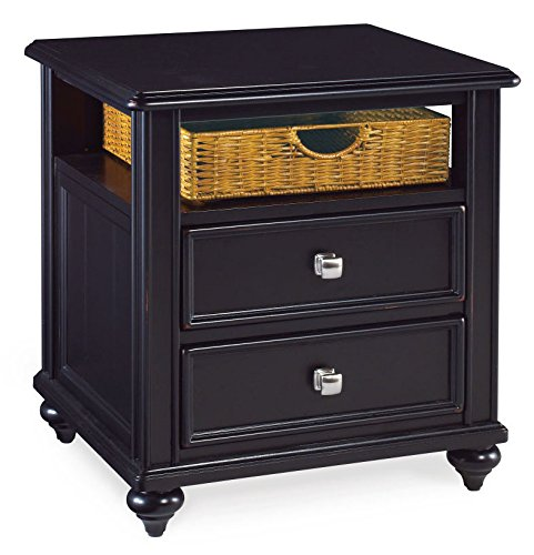 Hammary Side Table in Black