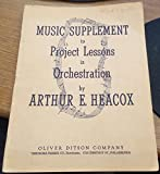 img - for Music Supplement to Project Lessons in Orchestration book / textbook / text book