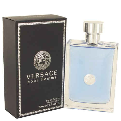(Versace Pour Homme by Versace Eau De Toilette Spray 6.7 oz -100% Authentic)
