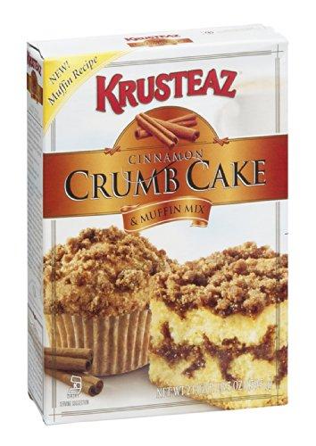 Krusteaz Cinnamon Crumb Cake & Muffin Mix, 21 OZ (Pack of 12) ()
