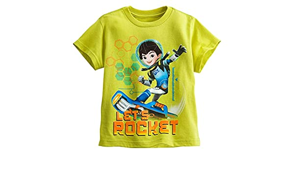Disney Store Miles from Tomorrowland Little Boy Long Sleeve T Shirt Size 5//6