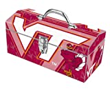 Sainty Art Works 24-124 Virginia Tech Hokies Art Deco Tool Box