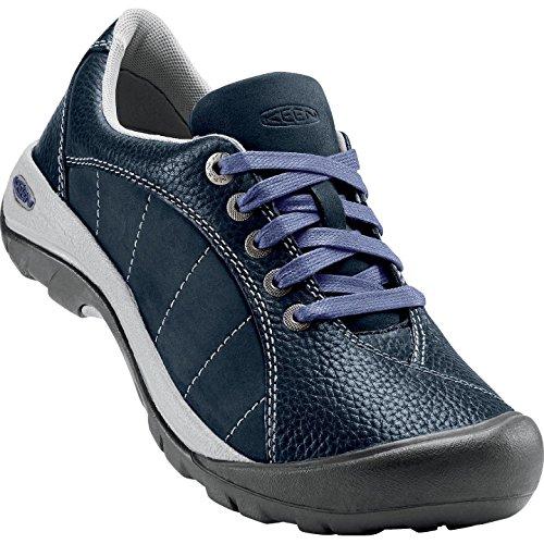 KEEN Women's Presidio Hiking Shoe, Blueberry, 7.5 M US by Keen