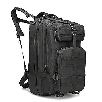 Eyourlife RFID Mochila Militar Táctica Molle para Acampada Camping Senderismo Deporte Backpack de Asalto Patrulla para Hombre Mujer 40L Negro: Amazon.es: ...